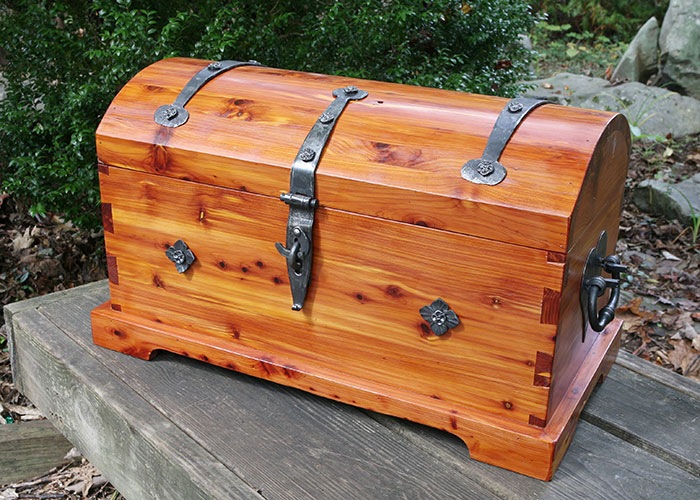 missouri red cedar chest by pat mccarty